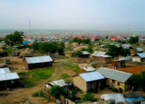World's youngest capital A Norwegian architect team is participating in the UN-Habitat program in Juba, the new capital of war-torn Southern Sudan. The city spreads uncontrollably in areas without infrastructure, and without people being permitted to settle there. In cooperation with local authorities, architects are developing planning tools, with the hope of creating a joint architecture educational programme with Juba, Oslo, Trondheim, the Norwegian Refugee Council and UN-Habitat. The team consists of Anna Skibevaag, Sigrid Vesaas and Sven E. Svendsen, all of whom have connections to NTNU. Photo: Anna Skibevaag