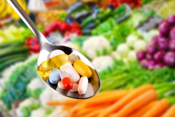 Supplementation with antioxidants and vitamins does not have the same beneficial effect as consuming them in their natural form. Illustration photo: Thinkstock