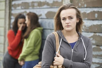 Girls also harass other girls. Photo: Thinkstock