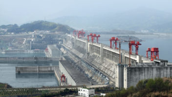 The Three Gorges Dam on the Yangtze River in China. Photo: Thinkstock