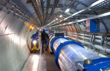 Brian Cox is part of the team that has worked with the  Large Hadron Collider (LHC) at CERN in Switzerland. Photo: Maximilien Brice/Cern