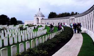 Cemetery at Tyne Cot, Belgium
