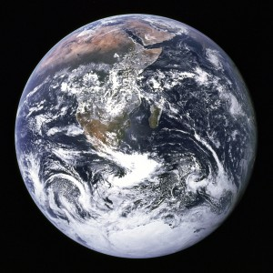 Hertwich's mission is to help people clearly see the costs and consequences of their actions so they can make the best decisions possible. And in doing so, save the planet. Photo: NASA