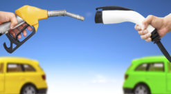 Electric cars versus conventional cars