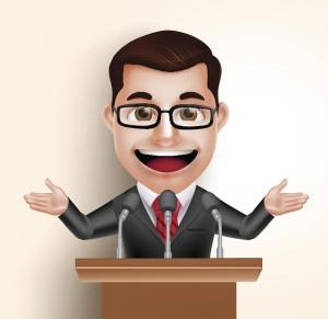 De populistiske aktørene presenterer seg gjerne som representanter for «folk flest». Illustrasjon: Thinkstock