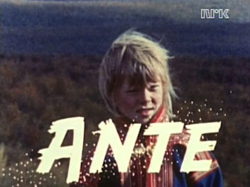 Ante was the Sámi boy who wanted to stay on the plateau with the family's herd of reindeer rather than be sent to boarding school.
