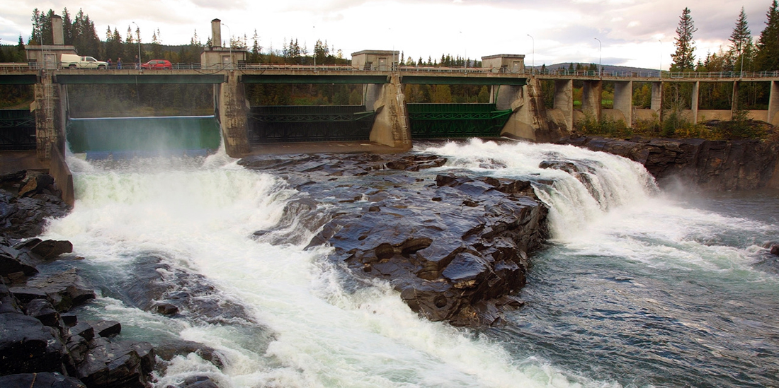 Norwegian power production consists of 96 per cent hydropower and is one of the country's most important natural resources. A recent report estimates that the SHOP program increases the value of the water in Norwegian reservoirs by two per cent. Photo: Statkraft