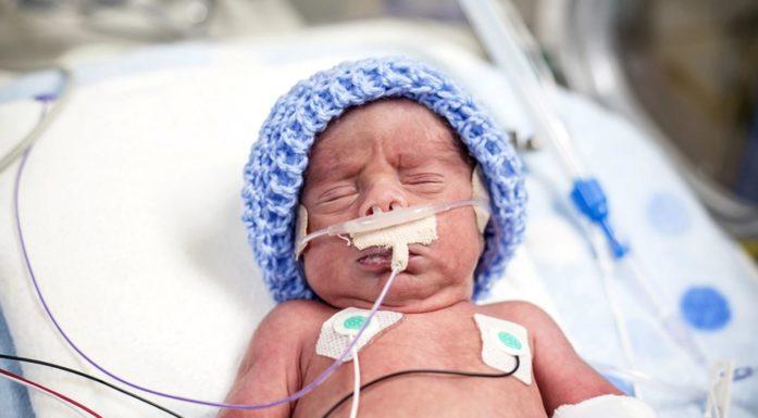 nyfødt barn